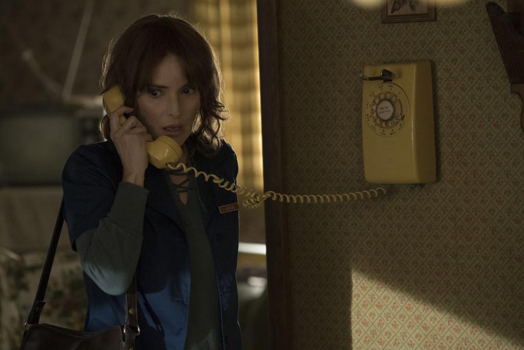 "Winona Ryder as Joyce Byers in ""Stranger Things"""