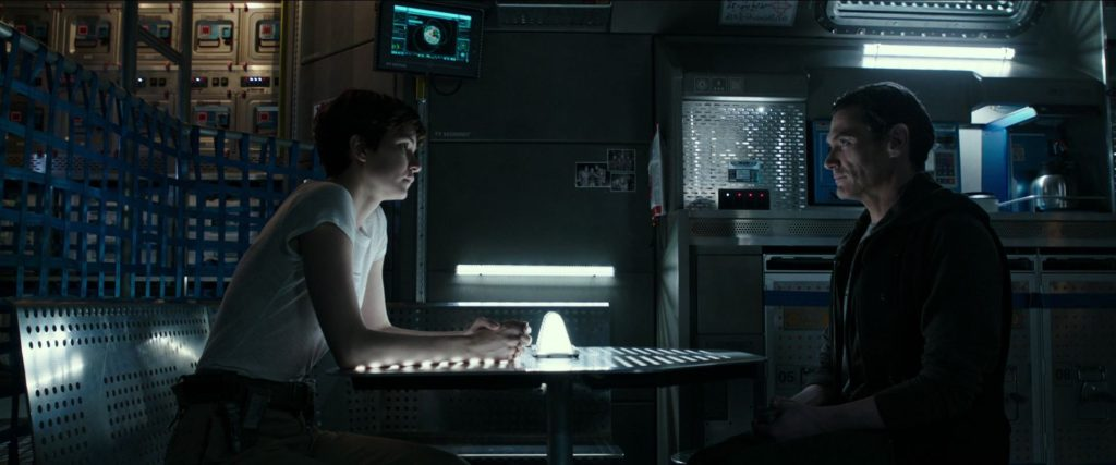 "Screen capture from ""Alien: Covenant"""