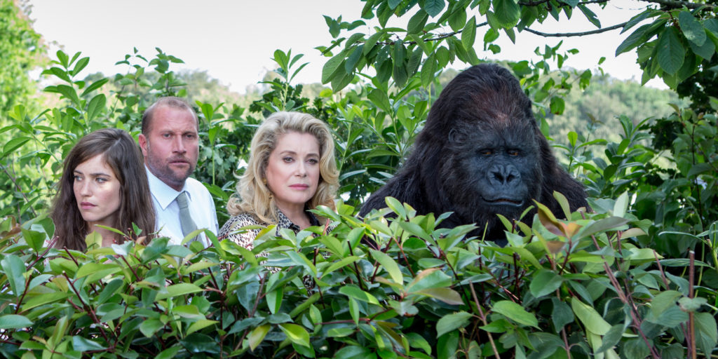 brand new testament catherine deneuve gorilla group