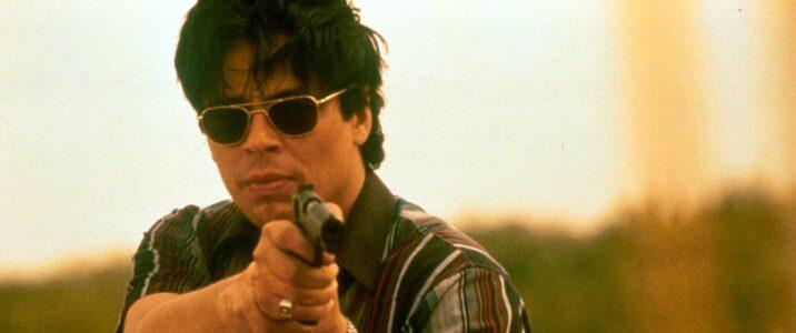 Undercover cop Javier Rodriguez (Benicio del Toro) busts a drug smuggler in Steven Sodebergh's